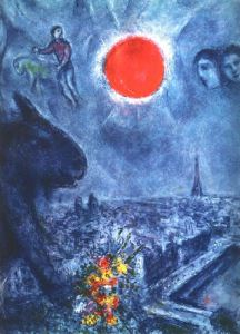 The Sun of Paris (1975 - Marc Chagall)